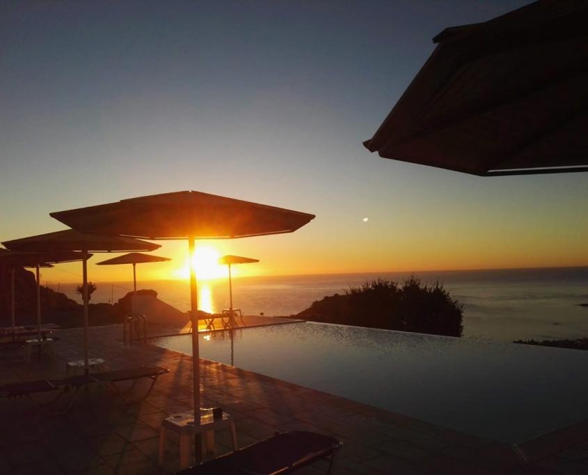 alba piscina panoramica b&b rodi