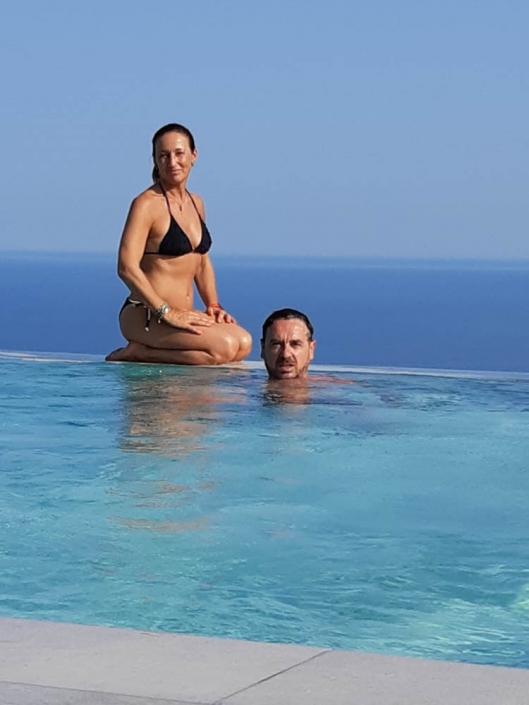 bed and breakfast rodi piscina vista mare